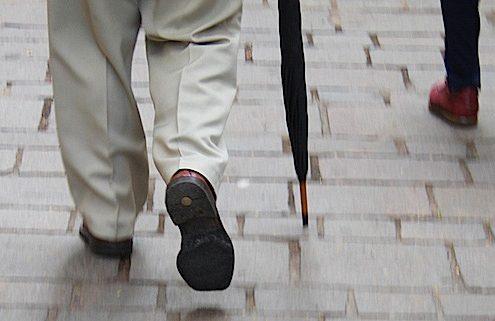 La marche à pied, c'es bon pour le moral